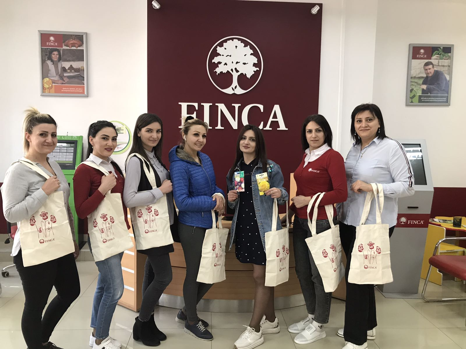 International Women's Day at FINCA